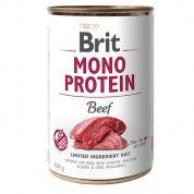 Brit Mono Protein Beef Hond 6x400gr