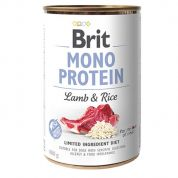 Brit Mono Protein Lamb & Rice Hond 6x400gr