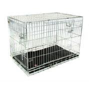 Hondenbench Premium Zilver