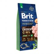 Brit Premium by Nature Junior Extra Large Hond 15kg