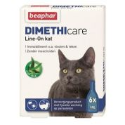 Beaphar Dimethicare Line-On Kat 6 pip
