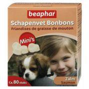 Beaphar Schapenvet Bonbons Zalm Mini's 245gr