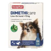 Beaphar Dimethicare Line-On Hond 6 pip (< 15kg)