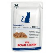 Royal Canin Veterinary Care Nutrition Neutered Weight Balance Kat 12x100gr