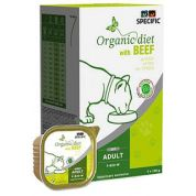 Specific F-BIO-W Organic with Beef Kat 7x100gr
