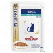 Royal Canin Veterinary Diet Renal Tonijn Kat 12x85gr
