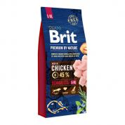 Brit Premium by Nature Senior Large + Extra Large Hond 15kg