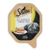 Sheba Classic Paté Kip Alu Kuipje 18x85gr