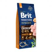 Brit Premium by Nature Senior Small + Medium Hond 15kg