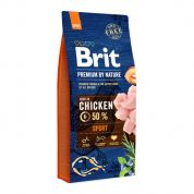 Brit Premium by Nature Sport Hond 15kg