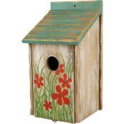 Trixie Nestkastje met Bloemen 15x28x14cm