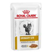 Royal Canin Veterinary Diet Urinary S/O Moderate Calorie Kat 12x85gr