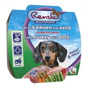 Renske Vers Verse Kalkoen met Eend Hond 8x100gr