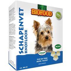 Biofood Schapenvet Mini Bonbons Knoflook 80st.