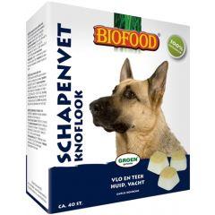 Biofood Schapenvet Maxi Bonbons Knoflook 40st.
