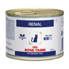 Royal Canin Veterinary Diet Kat Renal Kip Blik 12x195gr