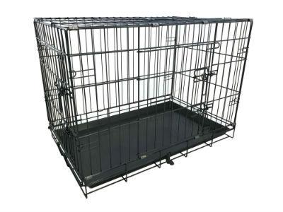 Hondenbench Premium Zwart (XL) 109x70x76cm
