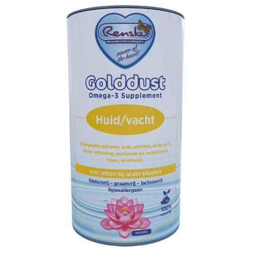 Renske Golddust Huid & Vacht - Voedingssupplement 250 gram