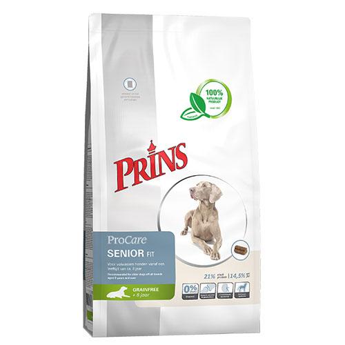 Prins ProCare Graanvrij Senior Fit Hond 12kg