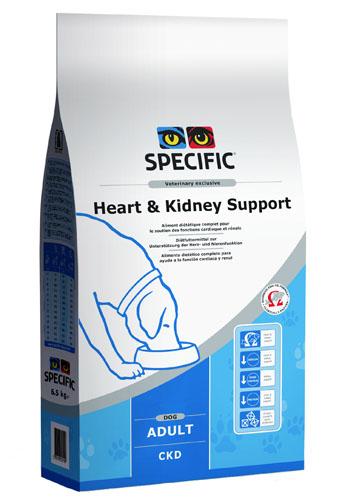 Afbeelding Specific Heart & Kidney Support CKD 12 kg. (3x4kg.) door Discount4Pets
