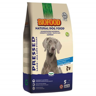Biofood Geperst Lam&Rijst Premium 5kg