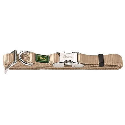Hunter Halsband Vario Basic Alu-strong Beige