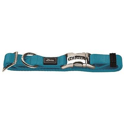 Hunter Halsband Vario Basic Alu-strong turquoise