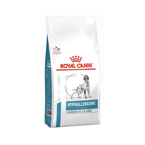 Afbeelding Royal Canin Veterinary Diet Hypoallergenic Moderate Calorie hondenvoer 14 kg door Discount4Pets