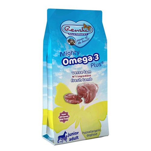Renske Mighty Omega-3 Plus Verse Lam & Rijst Hond 3kg