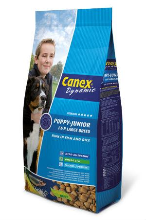 Canex Puppy / Junior Brocks Large Breed Vis & Rijst