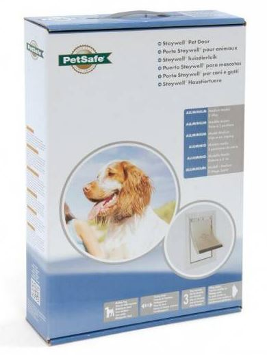 Afbeelding Staywell 620 Medium Aluminium Pet Door Per stuk door Discount4Pets