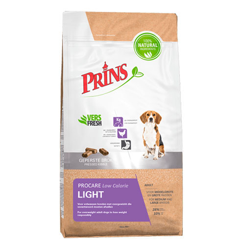 Prins ProCare Light hondenvoer 7.5 kg