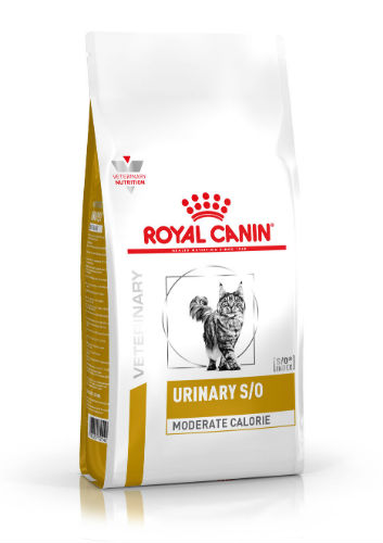 Royal Canin Veterinary Diet Urinary S/O Moderate Calorie Kat 7kg