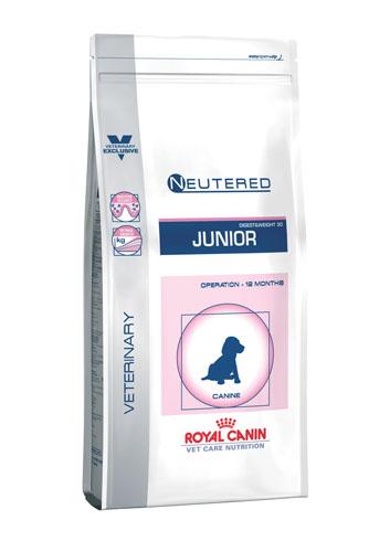 Royal Canin Veterinary Care Nutrition Neutered Junior Middelgrote Hond 10kg