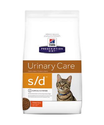 Hill's Prescription Diet Feline S/D Struviet/nierstenen/blaasgruis