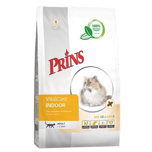 Prins VitalCare Indoor kattenvoer 10 kg