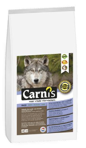 Afbeelding van Carnis Brok Geperst Konijn 15kg Hondenvoer Droogvoer